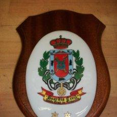 Militaria: METOPA DE PORCELANA-GUARDIA CIVIL-SANTA CRUZ DE TENERIFE. Lote 145819398
