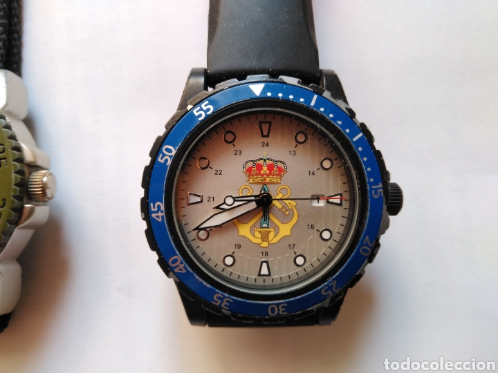 Militaria: Reloj militar legion coe marina españa - Foto 3 - 146388432
