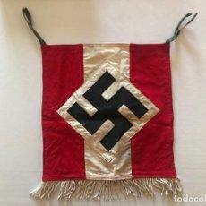 Militaria: BANDERA DE TROMPETA DE LAS HITLERJUGEND ADOLF HITLER. TERCER REICH,FÜHRER,NAZI,NSDAP. Lote 188823767