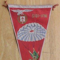 Militaria: BANDERIN PARACAIDISTA - SIDI-IFNI. Lote 147544278