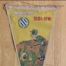 Militaria: BANDERIN PARACAIDISTA - SIDI-IFNI. Lote 147544554