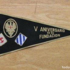 Militaria: BANDERIN PARACAIDISTA - V ANIVERSARIO DE SU FUNDACION. Lote 147544794
