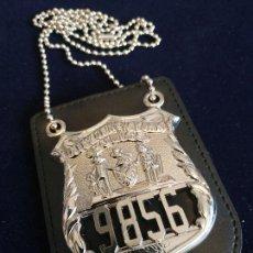 Militaria: PLACA DE LA POLICÍA DE NUEVA YORK. NEW YORK CITY POLICE (NYPD). POLICÍA AMERICANA. EEUU. USA POLICE.. Lote 147699206