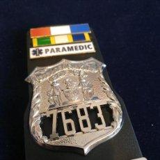 Militaria: PLACA DE LA POLICÍA DE NUEVA YORK CITY POLICE (NYPD). POLICÍA AMERICANA. EEUU. USA POLICE.. Lote 147699626