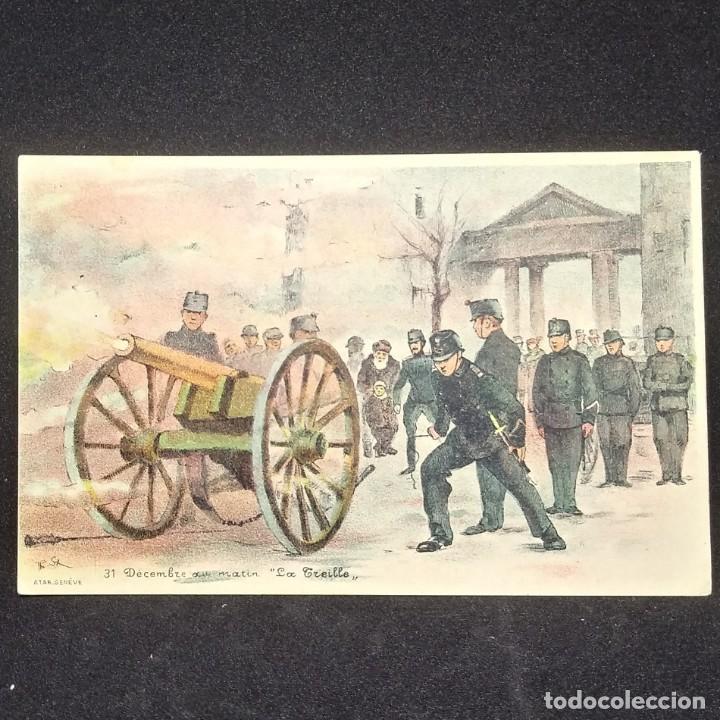 POSTAL LA TREILLE (Militar - Reproducciones, Réplicas y Objetos Decorativos)