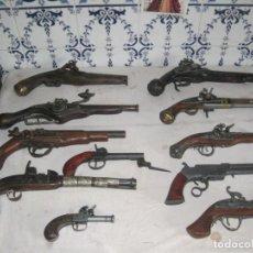 Militaria: ESPECTACULAR COLECCION DE 11 ARMAS REPLICAS DE ARMAS ANTIGUAS. Lote 148203690