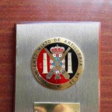Militaria: METOPA DEL REGIMIENTO MIXTO DE ARTILLERIA Nº 32.-. Lote 151063670