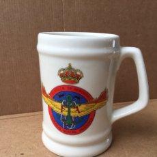 Militaria: JARRA DEL SERVICIO CONTRA INCENDIOS (CONTRAINCENDIOS) DE LA FLOTILLA DE AERONAVES (BASE NAVAL ROTA). Lote 151294386
