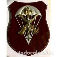 Militaria: METOPA DE LA LEGIÓN DEL CRISTO LEGIONARIO PARACAIDISTA. Lote 151488034