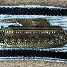 Militaria: TANK DESTRUCCION BADGE O KILLER TANK EN PLATA ,ALEMANIA WW 2. Lote 151591978