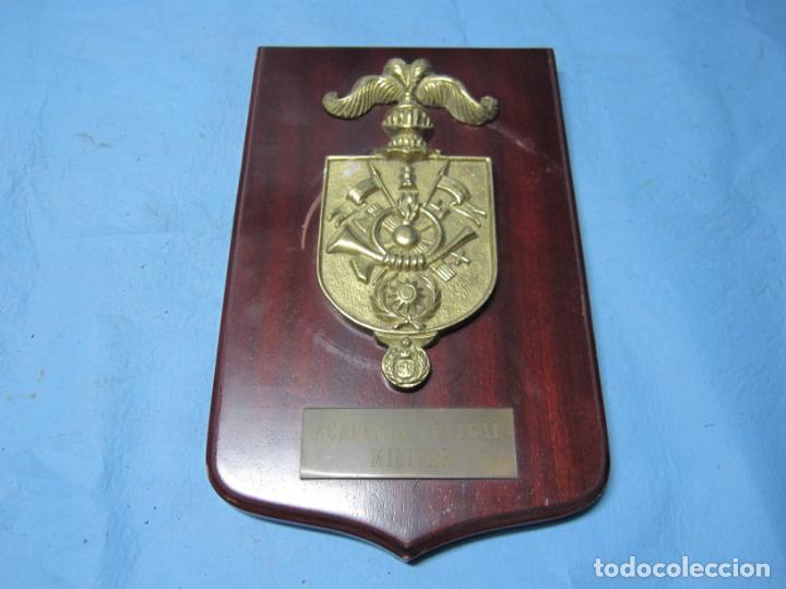 EMBLEMA ACADEMIA GENERAL MILITAR (Militar - Reproducciones, Réplicas y Objetos Decorativos)
