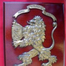 Militaria: RARA METOPA DE BRONCE DEL PRIMER BATALLÓN DE DESEMBARCO DE INFANTERÍA DE MARINA. Lote 152621782