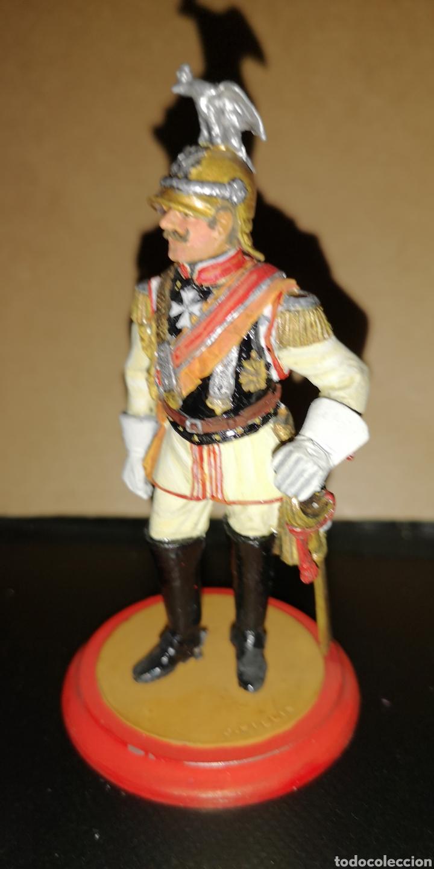 Militaria: soldado de plomo pintado a mano representando al Kaiser marca traditión medida 10,5 cm - Foto 2 - 153077069