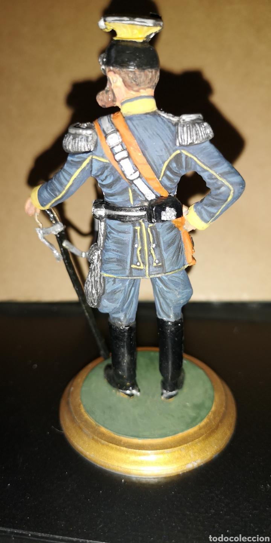 Militaria: Antiguo soldado de plomo representando al Kaiser marca, altura 10 cm pintado a mano - Foto 3 - 153077470