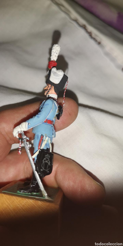 Militaria: Soldado de plomo pintados artesanalmente a mano representando a husar de María Cristina - Foto 2 - 153551990