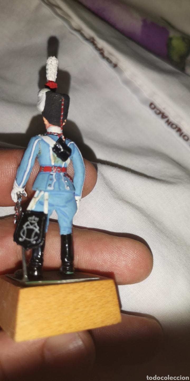 Militaria: Soldado de plomo pintados artesanalmente a mano representando a husar de María Cristina - Foto 3 - 153551990