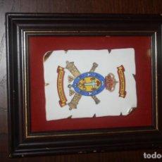 Militaria: CUADRO CERÁMICA REGIMIENTO DE ARTILLERÍA 93. SANTA CRUZ DE TENERIFE. VER DEFECTOS. Lote 153661482