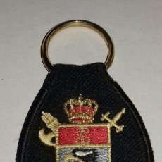 Militaria: LLAVERO DE TELA BORDADO GUARDIA CIVIL INFORMACIÓN . Lote 155494178