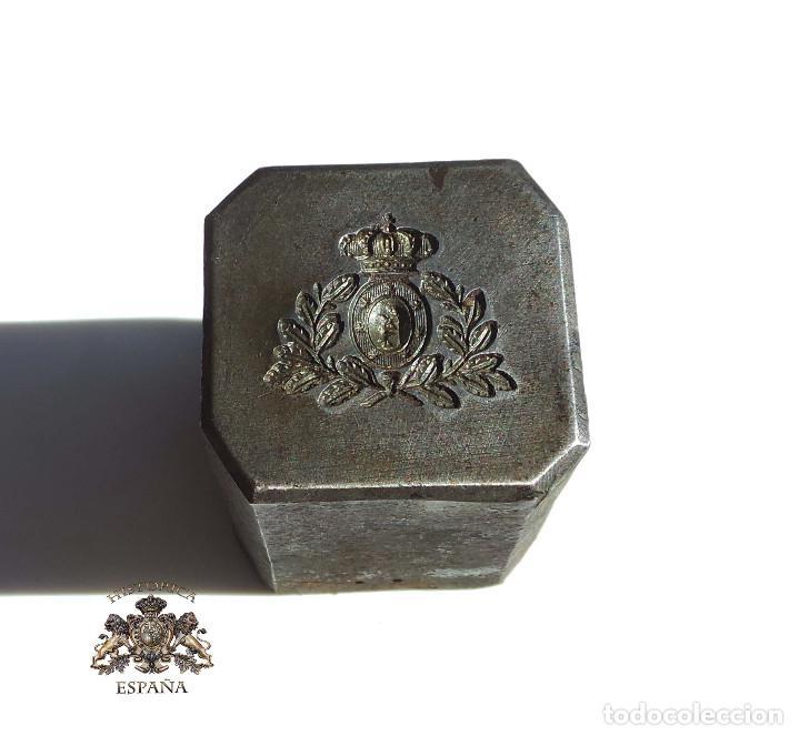 TROQUEL DISTINTIVO AYUNTAMIENTO DE MADRID (Militar - Reproducciones, Réplicas y Objetos Decorativos)