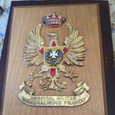 Militaria: METOPA HOSPITAL GENERALÍSIMO FRANCO. Lote 156832524