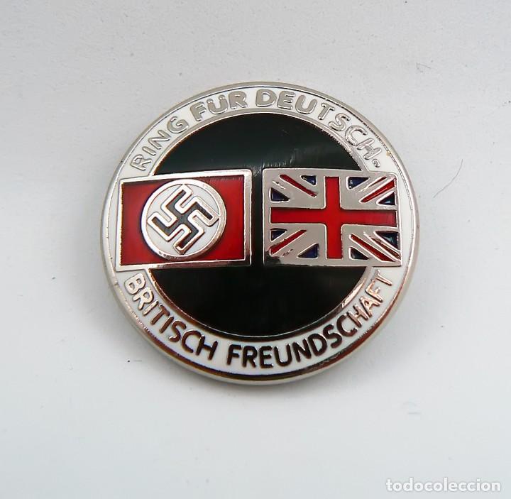 Militaria: Insignia de la alianza germano-británica. 3 Reich . nazi - Foto 2 - 171773543