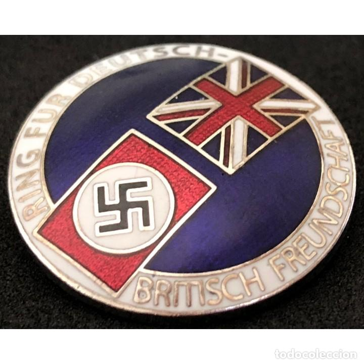 Militaria: Insignia de la alianza germano-británica. 3 Reich . nazi - Foto 6 - 171773543