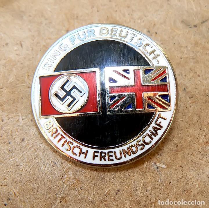 Militaria: Insignia de la alianza germano-británica. 3 Reich . nazi - Foto 7 - 171773543