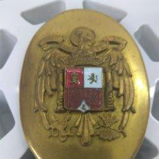 Militaria: FALANGE JOSE ANTONIO HEBILLA CINTURON 7,5X5,5 CMS APROX. NUEVA. Lote 157660364