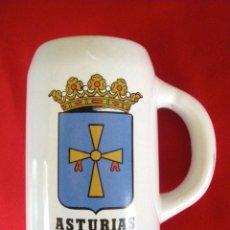 Militaria: JARRA FRAGATA ASTURIAS, ÉPOCA FRANCO. Lote 157849546