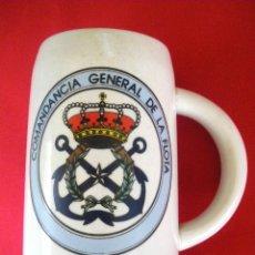 Militaria: JARRA COMANDANCIA GENERAL DE LA FLOTA.. Lote 157850258