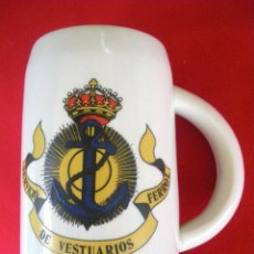 Militaria: JARRA SERVICIO DE VESTUARIO FERROL. Lote 157852054