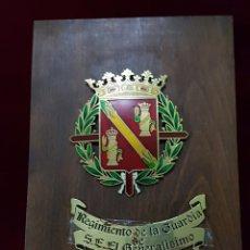 Militaria: METOPA REGIMIENTO DE LA GUARDIA DE FRANCO. Lote 162967097