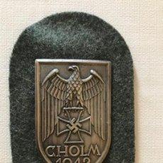 Militaria: INSIGNIA CHOLM 1942 TERCER III REICH, NAZI, HITLER, NSDAP. Lote 163473394