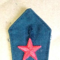 Militaria: GALLETA DE SARGENTO CARABINEROS. DIVISA REPUBLICANA, EJÉRCITO POPULAR, GUERRA CIVIL. Lote 194917582