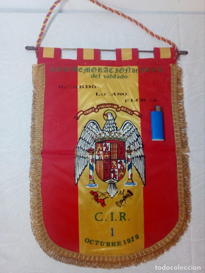 Militaria: ANTIGUO BANDERÍN MILITAR AÑO 1979 CIR 1 (JURA DE BANDERA DE SOLDADO) - Foto 14 - 166194698