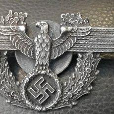 Militaria: MILITAR ALEMANIA: AGUILA DE CARTERA DE LA POLICIA TERCER REICH . Lote 167812384