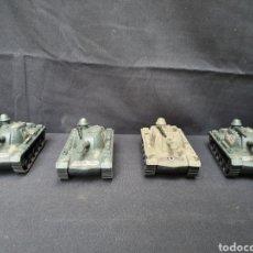 Militaria: 4 TANQUES PVC. Lote 168974994