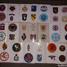 Militaria: LOTE DE ADHESIVOS INSIGNIAS FUERZAS DE ÉLITE DEL MUNDO. Lote 169139749