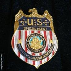 Militaria: PLACA DE AGENTE ESPECIAL DEL NCIS DE LOS U.S. POLICÍA AMERICANA. EEUU. USA POLICE.. Lote 169423524