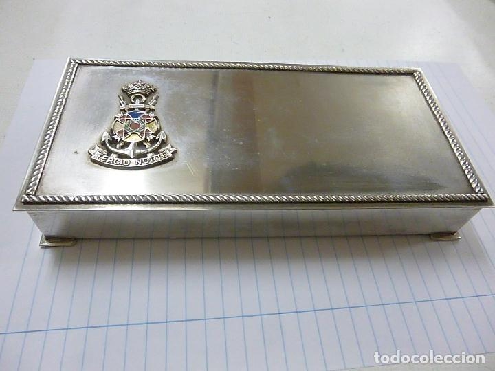 CAJA ALPACA TERCIO NORTE - 21 X 10 CENTIMETROS -N (Militar - Reproducciones, Réplicas y Objetos Decorativos)