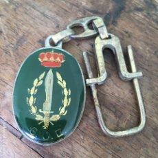 Militaria: LLAVERO DE LA COE, CON INSCRIPCIÓN G.O.E.. Lote 169654436