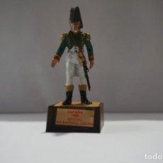 Militaria: SOLDADO PLOMO - ESPAÑA 1808 OFICIAL INFANTERIA LIGERA. Lote 171065537