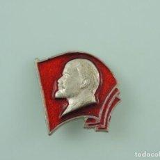 Militaria: INSIGNIA PIN LENIN BANDERA URSS RUSA. Lote 178053280