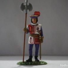 Militaria: SOLDADO PLOMO - ALABARDERO DE LA GUARDIA DE FERNANDO EL CATOLICO 1505. Lote 171082844