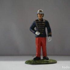 Militaria: SOLDADO PLOMO - SEGUNDO TENIENTE DE INFANTERIA PUERTO RICO 1895. Lote 171083362