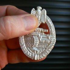 Militaria: INSIGNIA PANZERKAMP. PLATA .TERCER REICH. NAZI. Lote 171274984