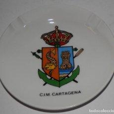 Militaria: CENICERO C.I.M CARTAGENA. Lote 171431922