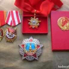Militaria: EXCELENTES REPLICAS DE ALTAS CONDECORACIONES SOVIETICAS. URSS. CCCP.. Lote 171986637