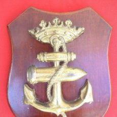Militaria: METOPA ESCUELA DE TIRO NAVAL JANER ÉPOCA FRANCO, ARMADA ESPAÑOLA.. Lote 172165353