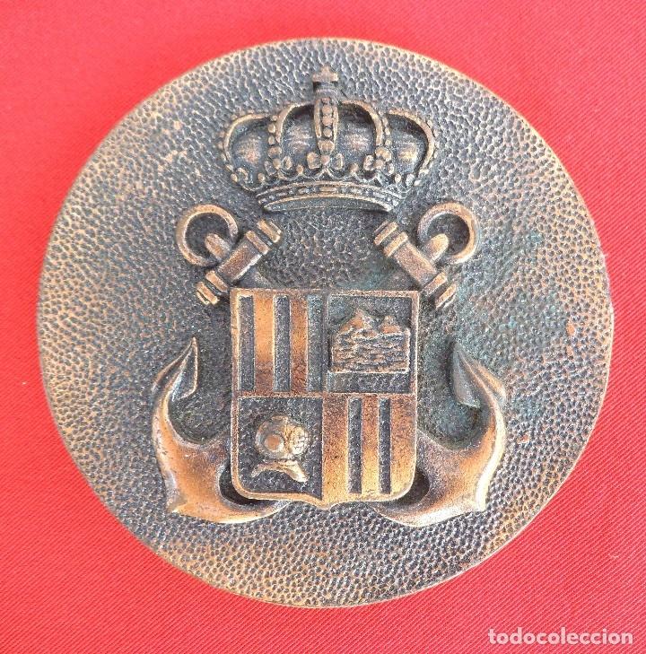MEDALLA DE MANO DEL PATRULLERO PVZ25 GROSA, LAS PALMAS DE 8 CTMS DE DIÁMETRO . (Militar - Reproducciones, Réplicas y Objetos Decorativos)